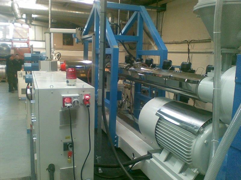 Kentya Extrusion Line Machinery from Vogue Plastics Machinery