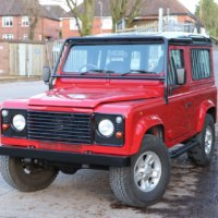 LAND ROVER 50TH Anniversary Edition, V8 4 Litre, Automatic